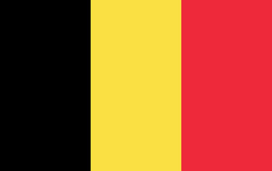 Bandera de Bélgica