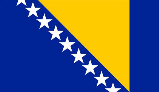 Bandera de Bosnia-Herzegovina