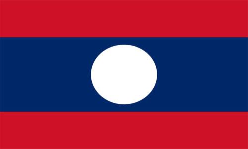 Bandera de Laos