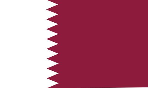 Bandera de Qatar