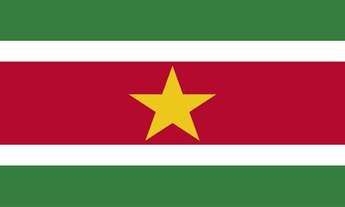 Bandera de Surinam
