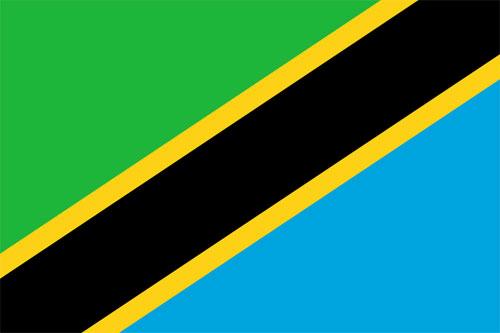 Bandera de Tanzania