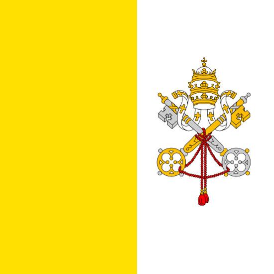 Bandera de Vaticano