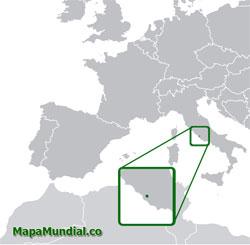 Mapa de Vaticano