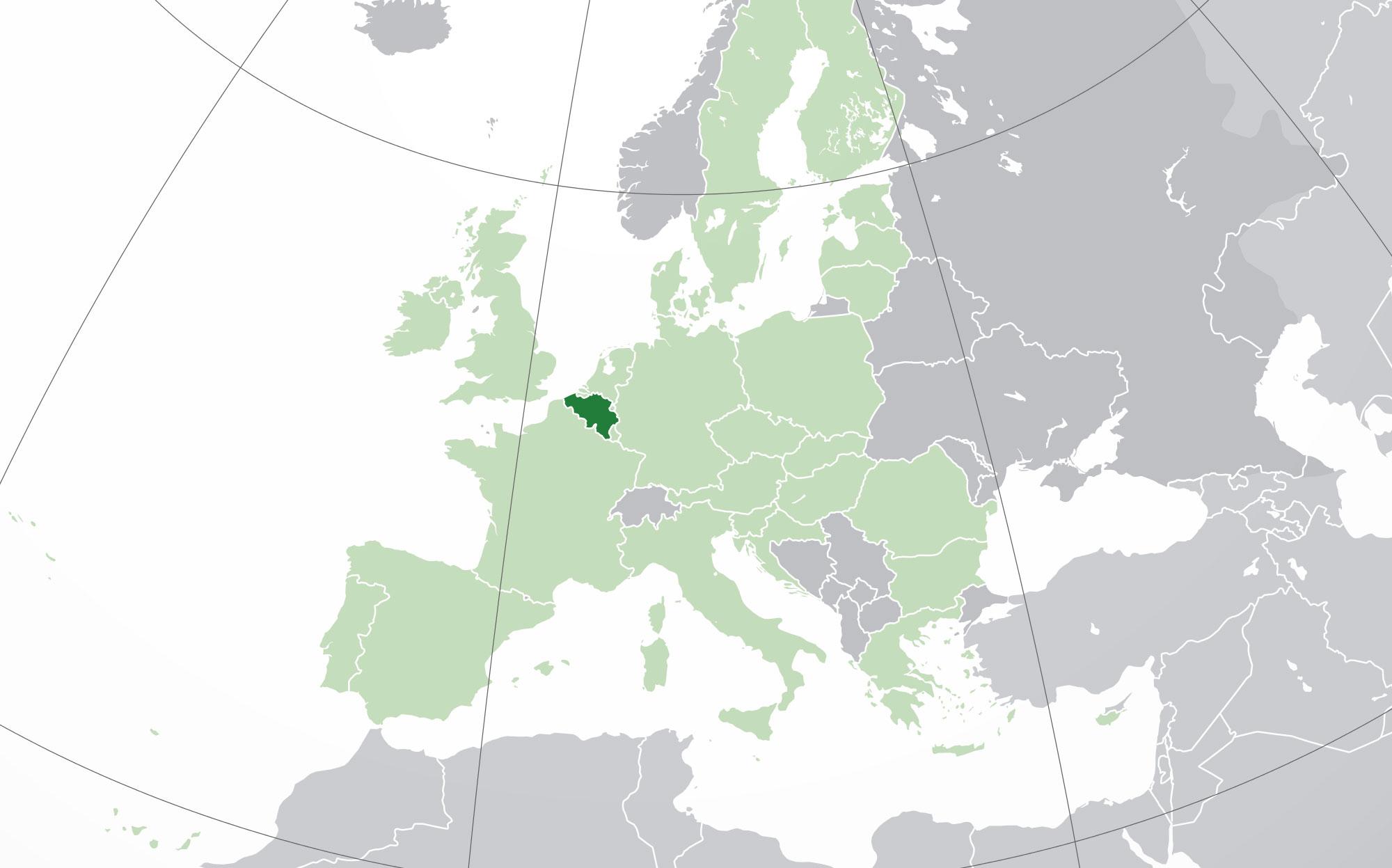 mapa de blgica