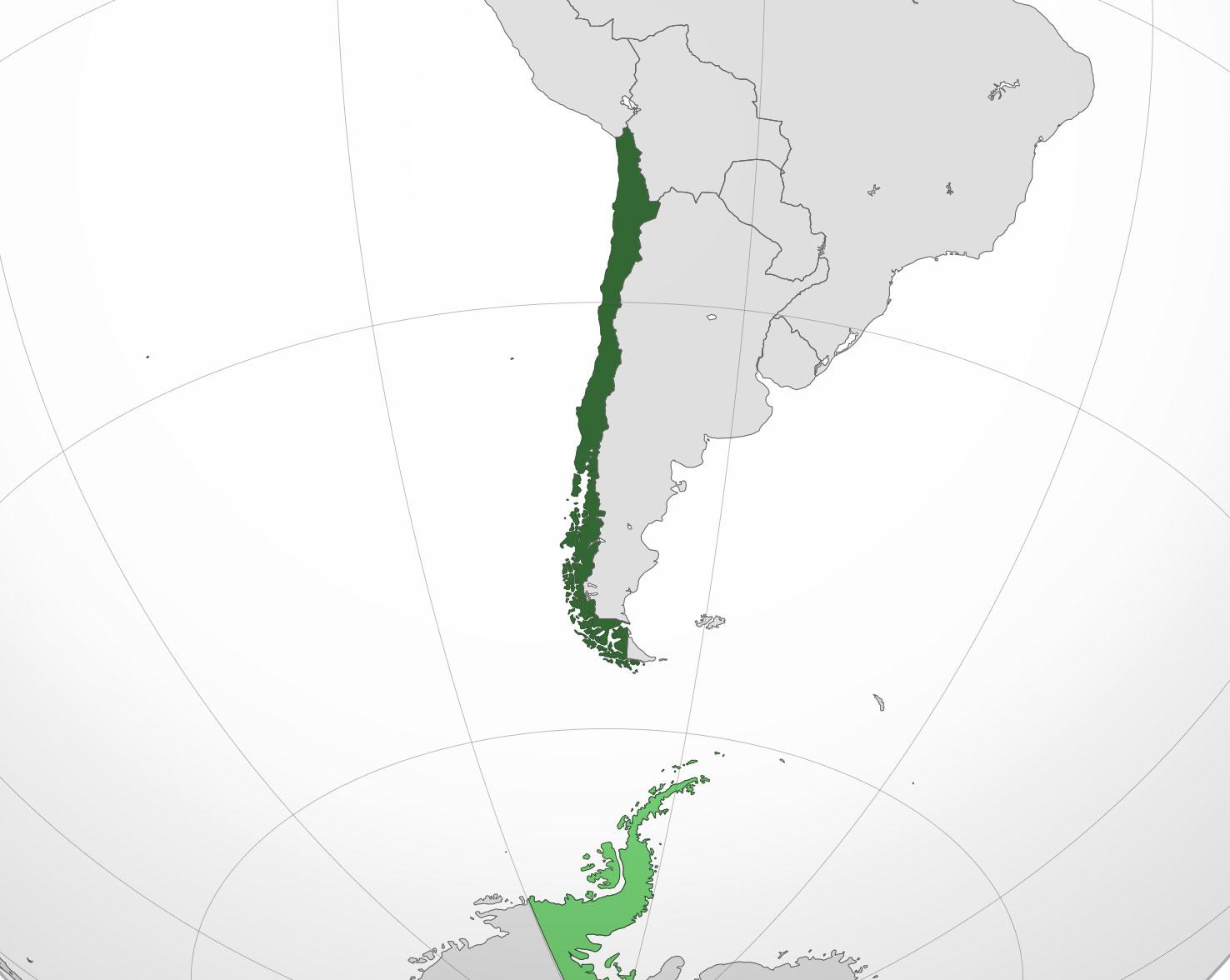 Chile Localizacion Geografica Situación Geográfica de Chile