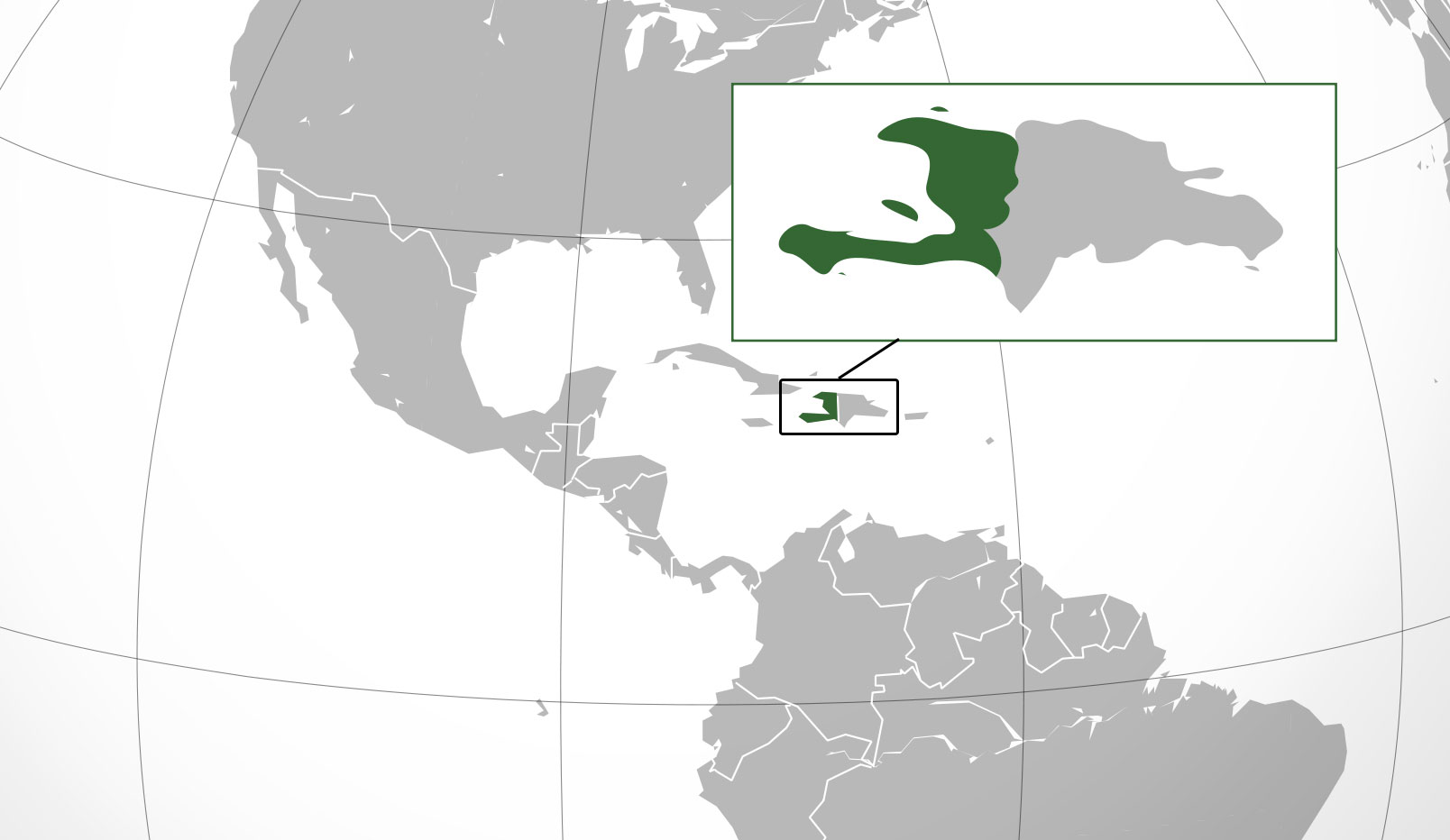 Mapa de Hait donde est queda pas encuentra localizacin