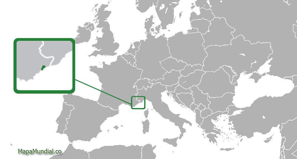 monaco mapa Mapa de Mónaco, donde está, queda, país, encuentra, localización  monaco mapa