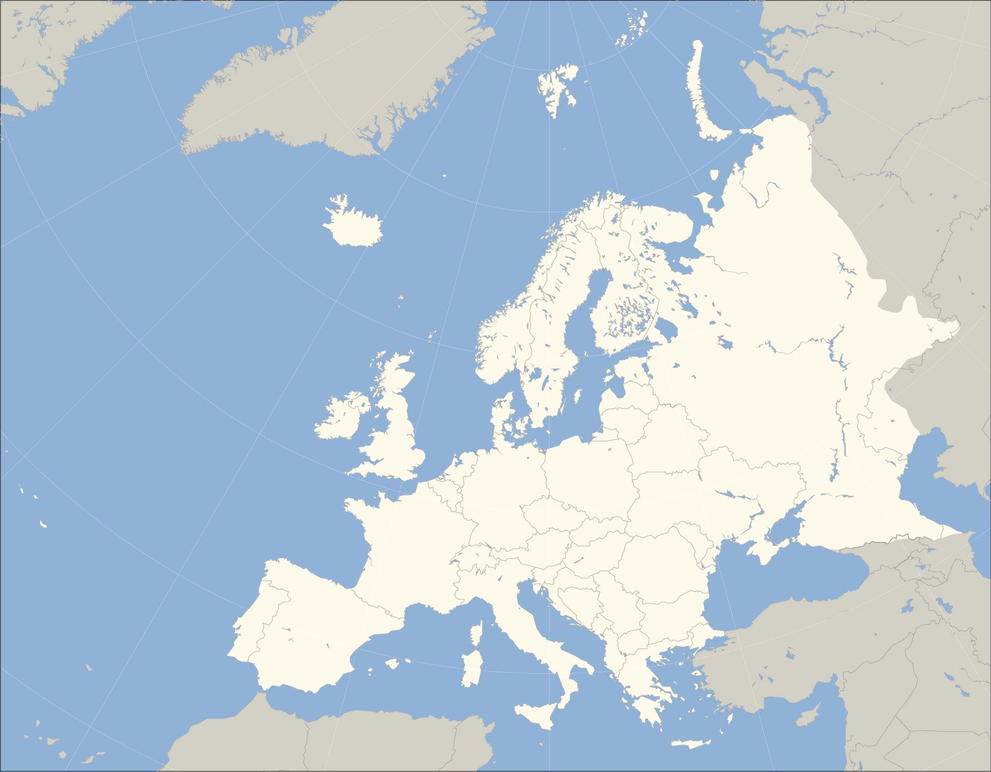 Mapa de Europa donde est Europa queda encuentra ubicacin