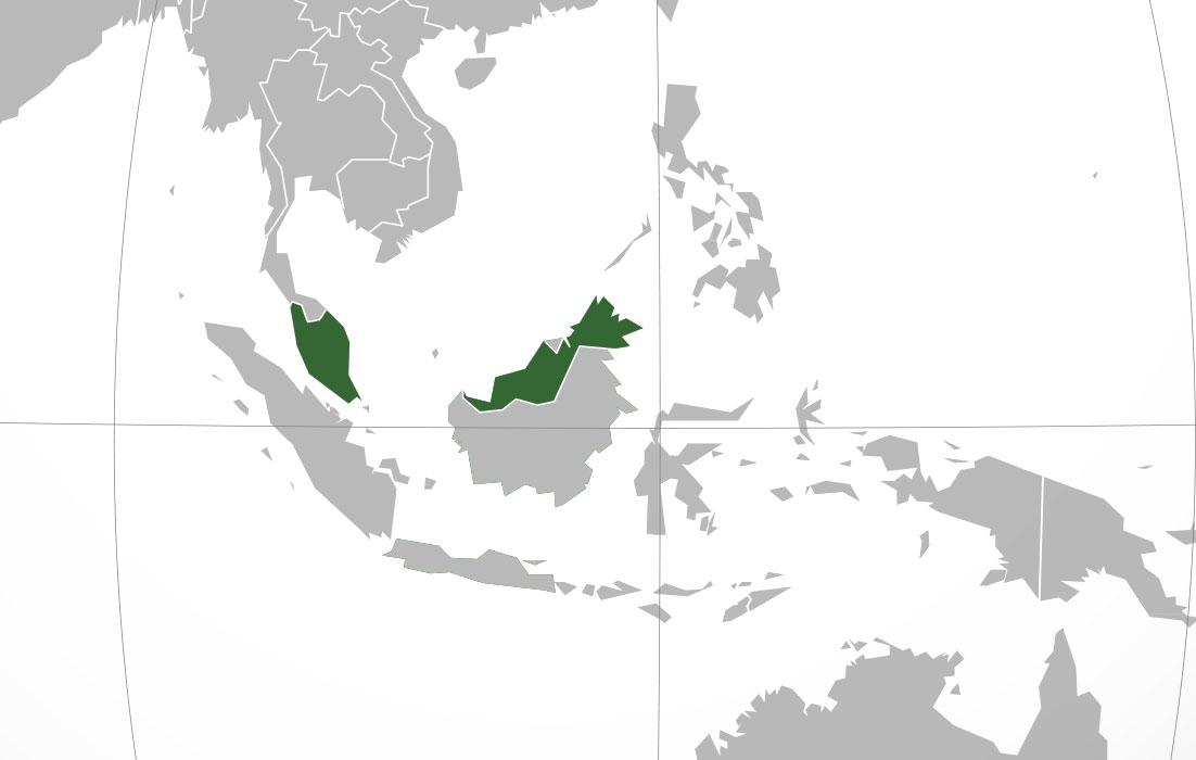Mapa de malasia donde est queda pa s encuentra for Donde se encuentra el marmol