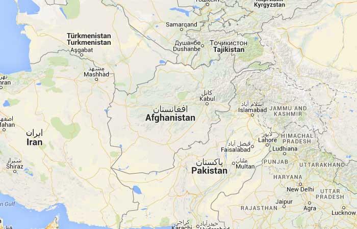 Mapa De Afganistan Donde Esta Queda Pais Encuentra