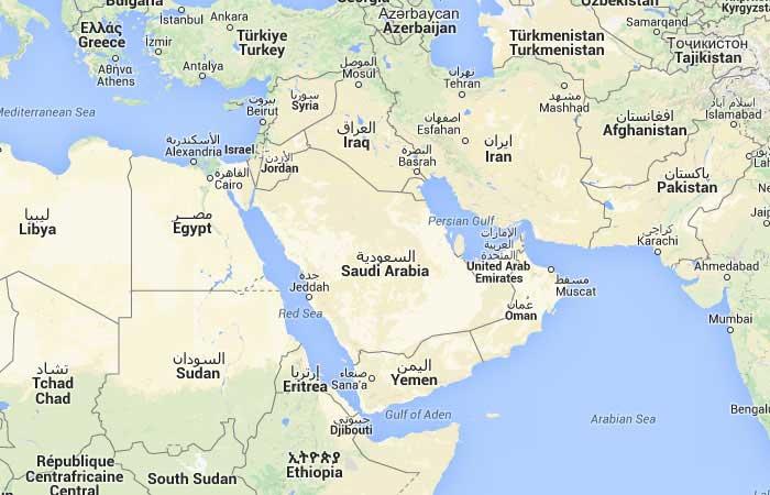 4f06fdc3c mapa grande Mapa de Arabia Saudita