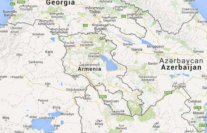 donde esta armenia ile ilgili görsel sonucu