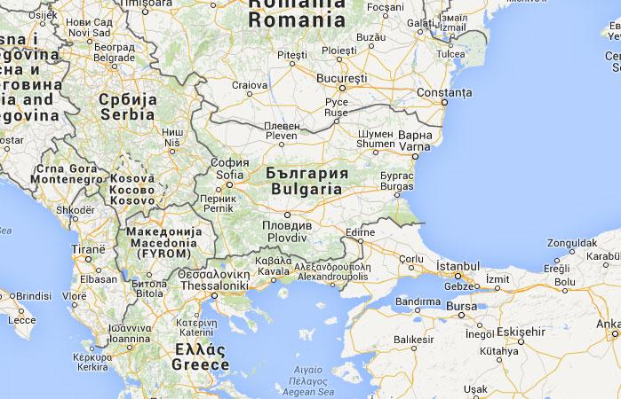 bulgaria mapa Mapa de Bulgaria, donde está, queda, país, encuentra  bulgaria mapa