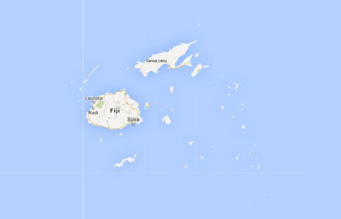 Mapa De Fiji Donde Esta Queda Pais Encuentra