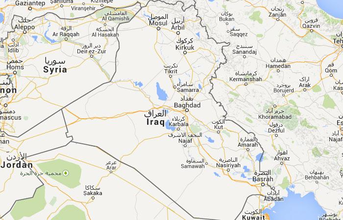 Mapa de Iraq Irak donde est queda pa s encuentra – Mapa De Iraq