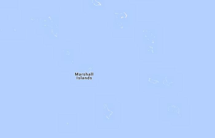 Mapa De Islas Marshall Donde Esta Queda Pais Encuentra
