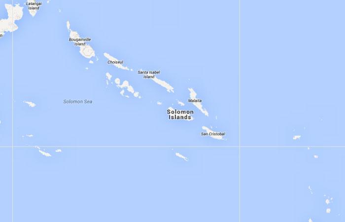Mapa De Islas Salomon Donde Esta Queda Pais Encuentra