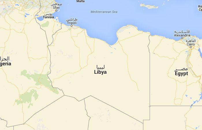 Mapa De Libia Donde Esta Queda Pais Encuentra Localizacion