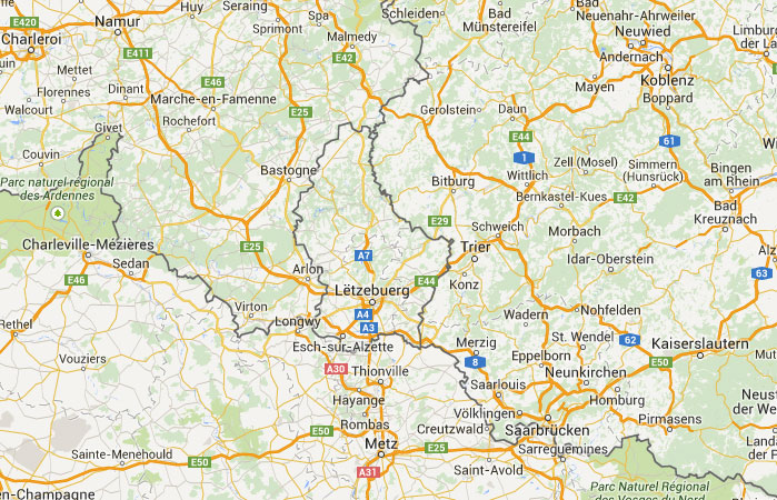 ver mapa do luxemburgo Mapa de Luxemburgo, donde está, queda, país, encuentra  ver mapa do luxemburgo