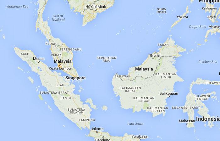 Mapa De Malasia Donde Esta Queda Pais Encuentra Localizacion