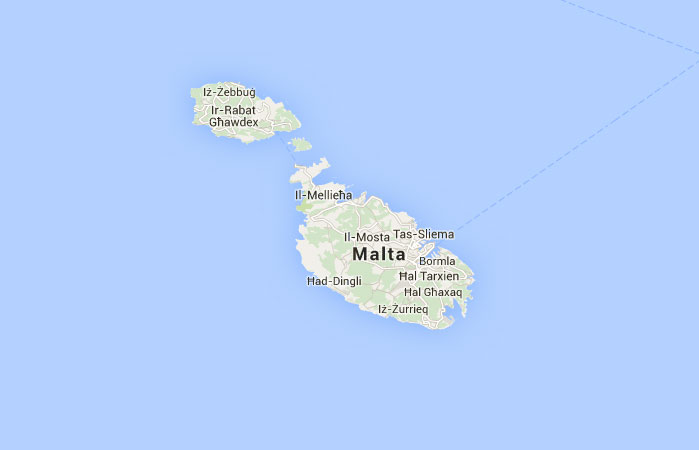 Mapa De Malta Donde Esta Queda Pais Encuentra Localizacion