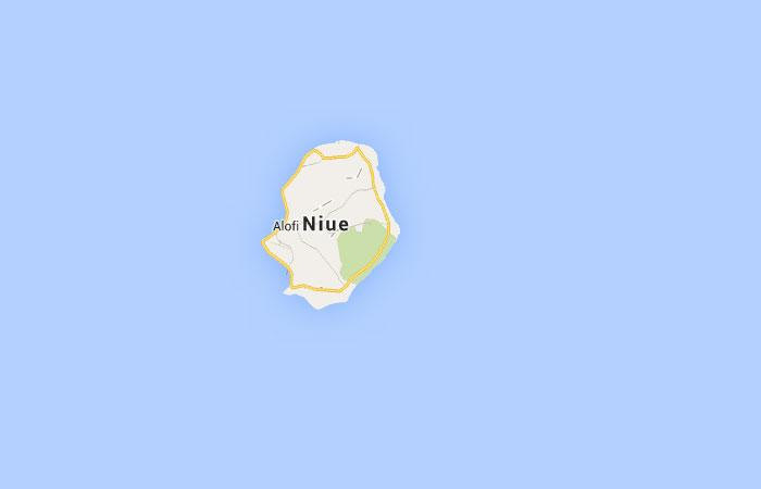 Mapa de Niue
