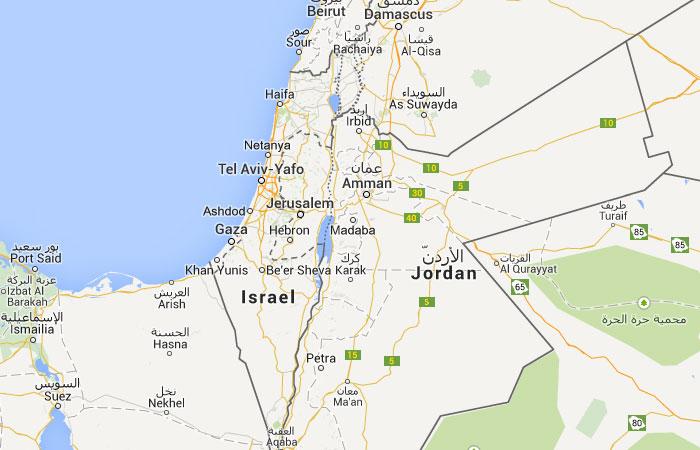 Mapa De Palestina Donde Esta Queda Pais Encuentra