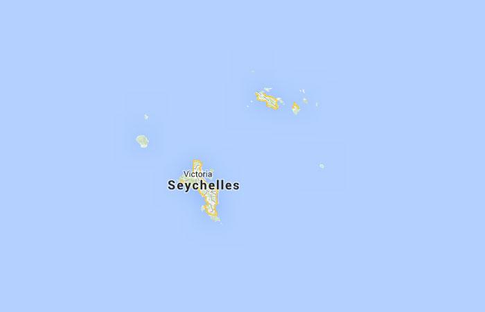 Mapa De Seychelles Donde Esta Queda Pais Encuentra