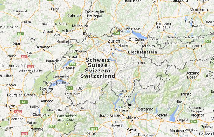 930cb97b4 Mapa de Suiza