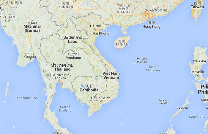 Mapa de Vietnam donde est queda pas encuentra localizacin
