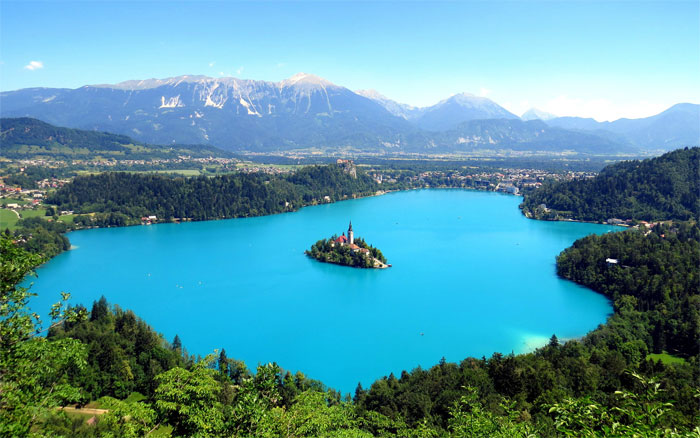 Lago Bled.   Fotografía: Mark Gregory
