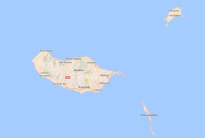 b9c3d0dbd Mapa de Madeira